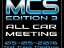 M.C.S All Car Meeting Edition 3 2016